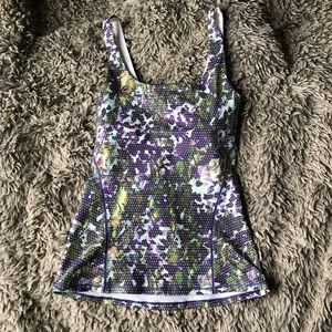 patterned lulu lemon tank top